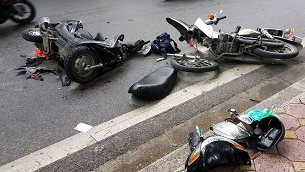 Một ngày hai vụ TNGT, ba người tử vong